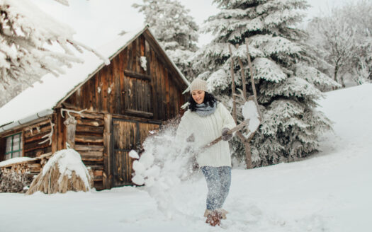 Snow Removal for a country home