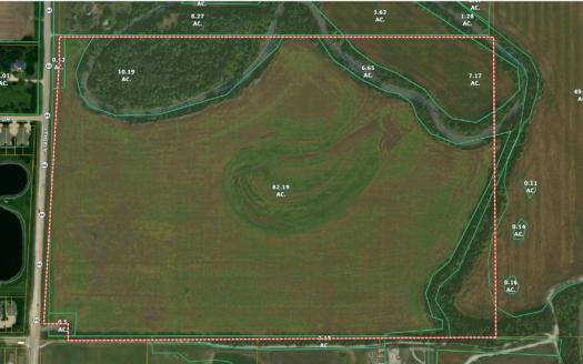 photo for a land for sale listing for NEBRASKA FARM & DEVELOPMENT LAND FOR SALE BY UNITED COUNTRY