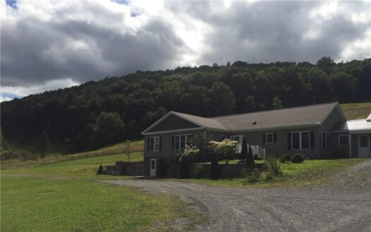 photo for a land for sale listing for Beautiful Newer Home with 133 Acres in DeRuyter
