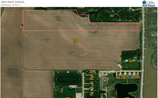 photo for a land for sale listing for NEBRASKA FARM AND DEVELOPMENT LAND FOR SALE UNITED COUNTRY