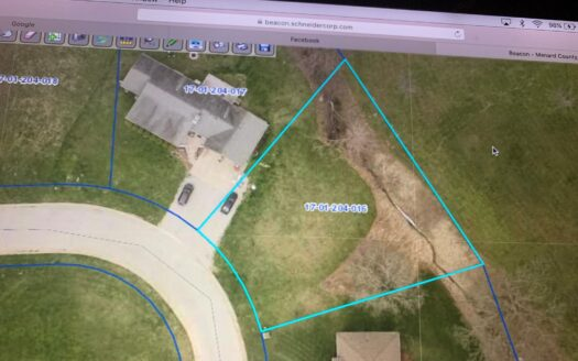 photo for a land for sale listing for Lot 16 in Timberbrook Subdivision
