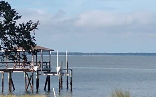 photo for a land for sale listing for 1.5 acres on Port Royal Sound for sale in South Carolina