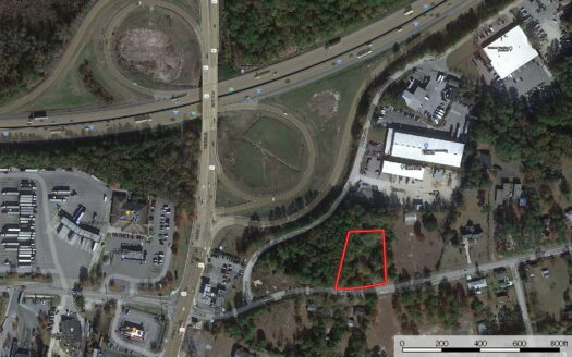photo for a land for sale listing for Commercial Lot For Auction in Downtown Columbia SC