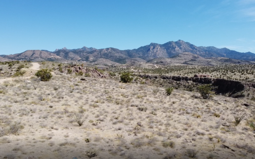 photo for a land for sale listing for Arizona off-grid property with views