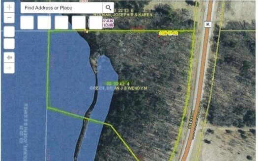 photo for a land for sale listing for Buildable Lot For Sale in Waupaca