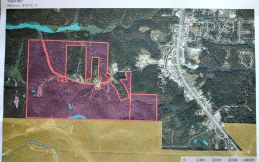 photo for a land for sale listing for Hunting / Commercial Development Property FOR SALE