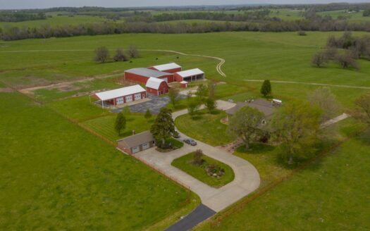 ranches for sale listing image for Cattle Ranch & Farm with Home for Sale in Cedar County