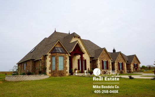 ranches for sale listing image for Farm & Ranch with Luxury Home for Sale in Wanette