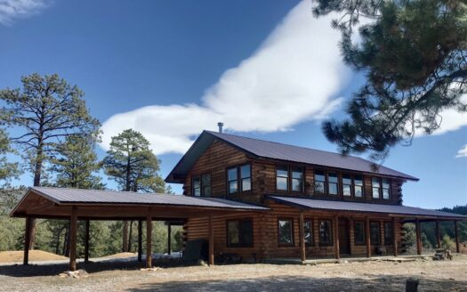 ranches for sale listing image for Northern Nm Log Homes for Sale with Acreage
