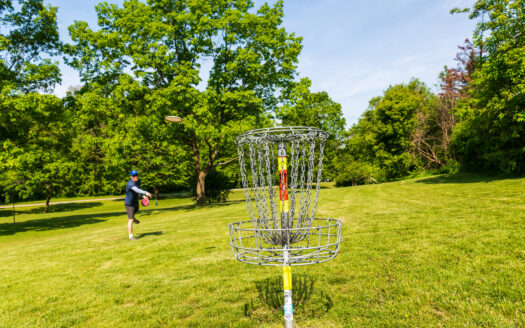 Disc Golf Course on Land